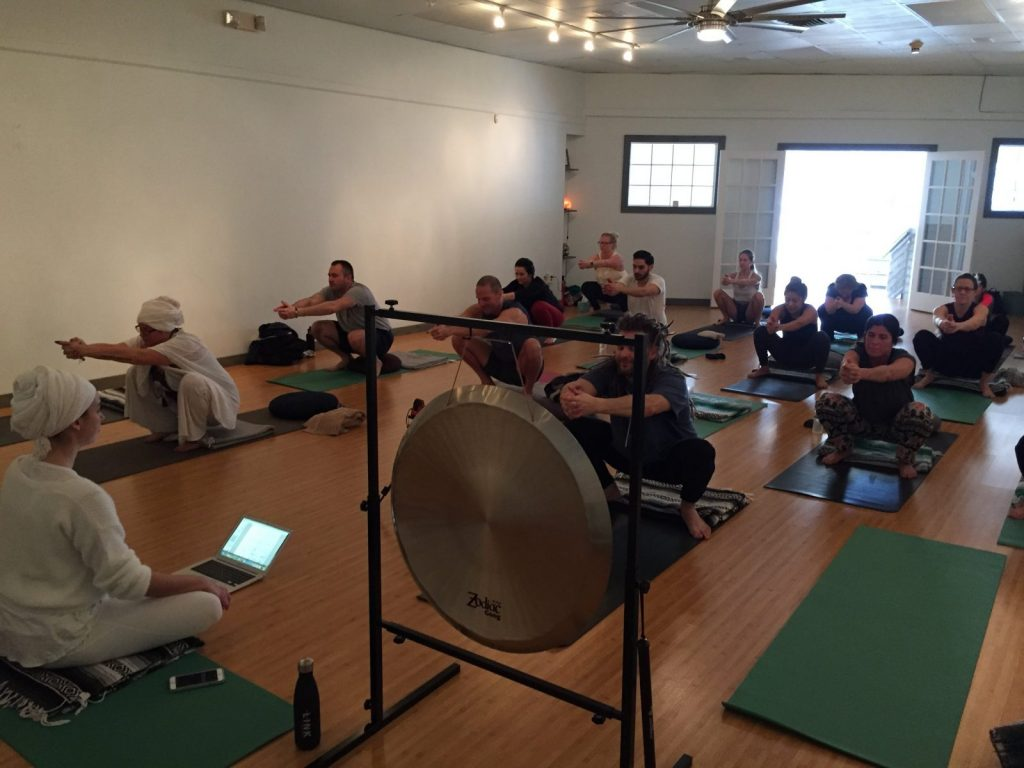 Kundalini Yoga class at Power Within Healing Space